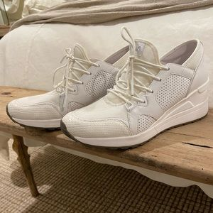 Michael Kors Leather and Mesh Trainer